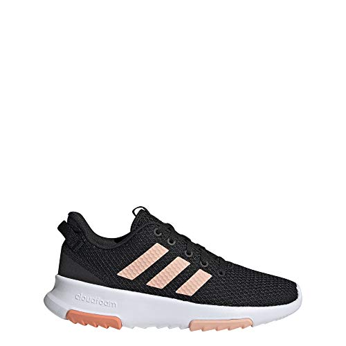 adidas Performance Racer Sneaker Kinder schwarz/pink, 5 UK - 38 EU - 5.5 US
