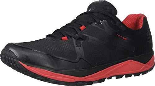 Topo Athletic MT-3 - Scarpe da Trail Running da Uomo, Uomo, M031-090-BLKRED, Nero/Rosso, 9.5 M US