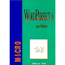 WordPerfect 6 pour Windows