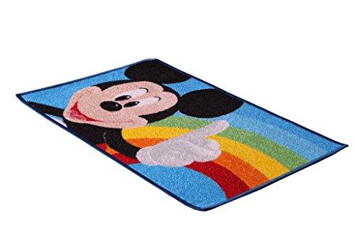 Tapis pour enfants Mickey Rainbow 80 x 50 cm