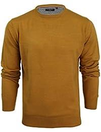 Amazon.fr   Jaune - Pulls et gilets   Homme   Vêtements 299ae7c4d8cc