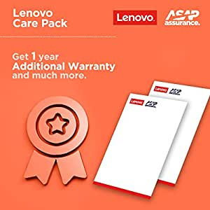 Lenovo 1 Year Extended Warranty Pack with Onsite Service for Laptops