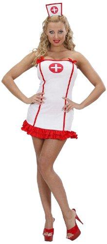 (Widmann 59063 - Erwachsenenkostüm Krankenschwester, Kleid und Kopfbedeckung, Größe L)