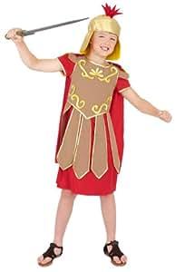 Gladiator Costume Includes Tunic, Cape and Hat - Small