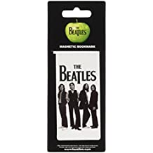 The Beatles White Iconic Image Magnetic Bookmark [Import anglais]