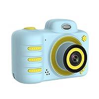 كاميرا Andoer الرقمية شاشة 2.4 بوصة مع بطاقة ذاكرة دي اس ال ار، عدسة مزدوجة الكرتون للأطفال عطلة