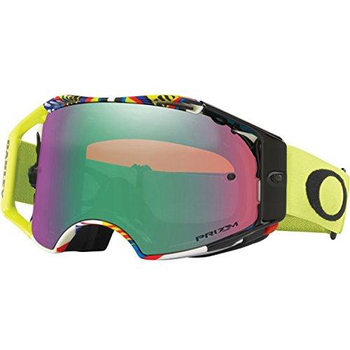 Oakley Airbrake VR46 Prizm Jade Iridium Motocross Brille (Oakley-goggles Motocross)