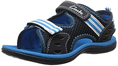 Clarks Boy's Blue Sandals and Floaters - 4 kids UK/India (20 EU)
