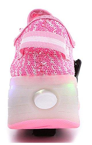 NEWZCERS , Chaussures d'athlétisme pour femme Rose