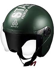 Autofy TROUPER Open Face Helmet