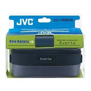 JVC Starter kit simple durée VU-VM80 Sac CB-VM42 + 1 batterie pour caméscopes JVC séries MG100/MG200 et MG575