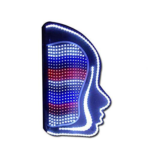 Massage Barber Pole LED-Licht, Barber Shop Pole Rotating Light Stripes Zeichen Friseursalon -