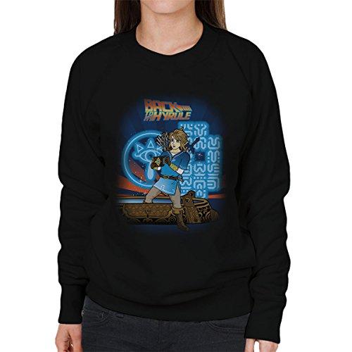 Legend Of Zelda Back To My Hyrule Women's Sweatshirt Black