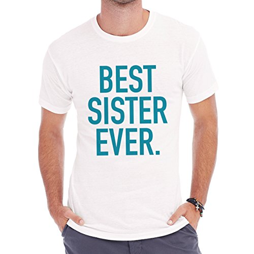 Best Sister Ever In The World Electric Edition Herren T-Shirt Weiß