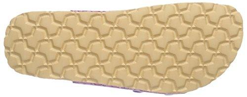 Superfit FUSSBETT Mädchen Pantoffeln Violett (DAHLIA KOMBI 74)