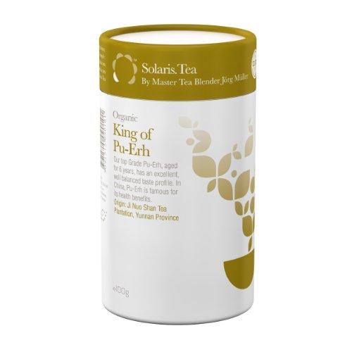 Solaris Tea Organic Loose Whole Leaf King of Pu Erh 100 g