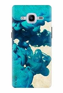 Noise Designer Printed Case / Cover for Samsung Galaxy J2 - 6 (New 2016 Edition) / Patterns & Ethnic / Blue Splash Design