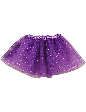 Amlaiworld Vestito per bambini,Principessa stelle paillettes danza Balletto Tutu gonne