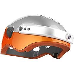 Run & Roll HD Radic Pro - Casco, Color Naranja, 54-63 cm