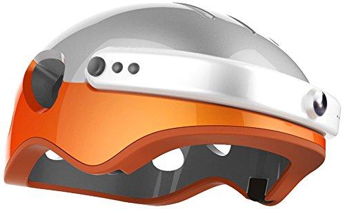 Run & Roll HD Radic Pro Helm, Herren, Casco HD Radic Pro, orange, 54-63 cm