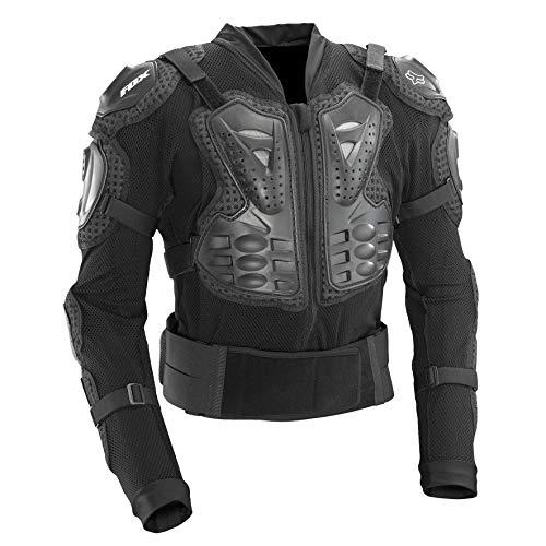 Fox Titan Sport Protektorenjacke, Farbe schwarz, Größe M