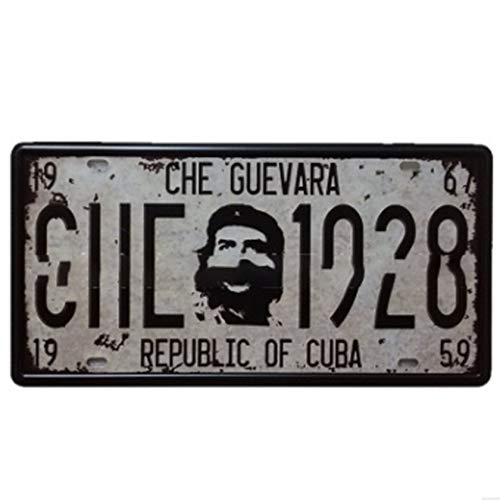Your metal license plate the best Amazon price in SaveMoney.es on