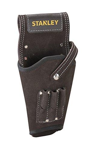 Preisvergleich Produktbild Stanley STST1-80118 Leder Akku-Schrauber-Halfter, hoher Tragekomfort mit Nieten verstärkt für Links- und Rechthänder geeignet