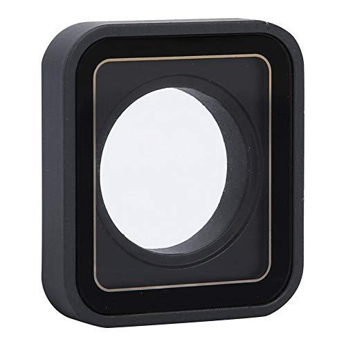 Especificación:   Condición: 100% a estrenar  Material: aleación de aluminio + lente de cristal  Color: como imágenes mostradas  Tamaño: aprox.3.2 * 2.8 * 0.5 cm / 1.3 * 1.1 * 0.2 pulgadas  Adecuado para: Para GOPRO HERO 5 HERO 6 HERO 7 Negro    Lis...