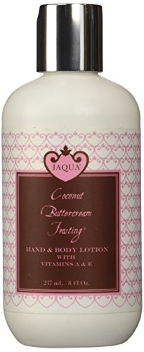 Jaqua Coconut Buttercream Frosting Hand & Body Lotion by Jaqua