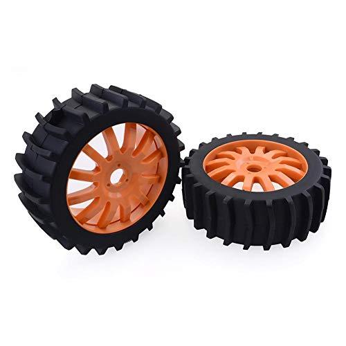 4 Stücke 1/8 RC Off Road Buggy Schnee Sand Paddel Reifen Reifen Rad Für HSP HPI Baja (Und Felgen Paddel-reifen)