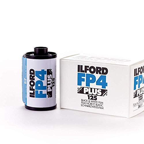Ilford 1649651 FP4 125-36 Schwarz-/Weiß Negativ-Filme (Filmes)