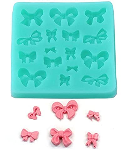 SaySure - silicone 3D Mini bowknot shape Chocolate Candy silicone fondant