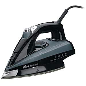 Braun TexStyle 7 TS745A Steam Iron - Black