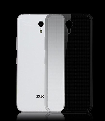 Febelo (TM) Branded Perfect Fitting High Quality Ultra Thin Transparent Silicon Back Cover for Lenovo Zuk Z1