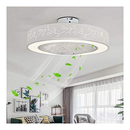 WFL-Lighting - Lámpara de Techo LED con Ventilador y Kit de luz,...