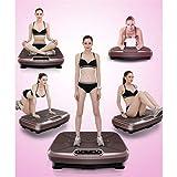 SZJRYAN Vibrationsplatte, Sport Oszillierende Plattform Multifunktional Power Plate Trainer Ganzer Körper Schlank Massage - 4