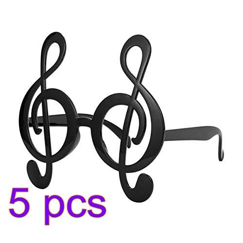 Toyvian Musikalisches Glas Kreative Lustige Partyglas für Konzertfest Party ()
