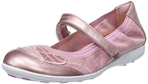 Geox Mädchen JR Jodie A Geschlossene Ballerinas Pink, 28 EU
