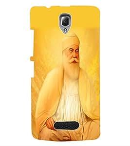 ColourCraft Lord Guru Nanak Back Case Cover for LENOVO A2010