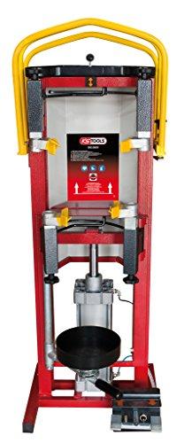 KS Tools 500.8805 Druckluft-Stand-Federspanner inklusiv Adapterplatte