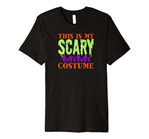 This Is My Scary Mimi Kostüm Halloween Tshirt Grandma Funny