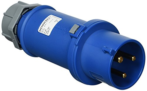 Preisvergleich Produktbild as - Schwabe CEE-Stecker Caravan 230 Volt / 32 Ampere / 3 polig - für den Außenbereich,  blau,  60590