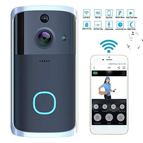 Videoportero WiFi Tauser con detección de movimiento, visión nocturna y audio bidireccional por 28,99€ usando el #código: TUERYKM8
