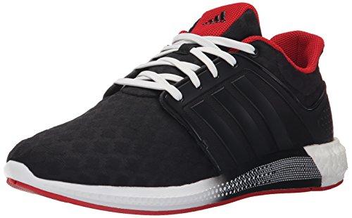 Adidas Performance Solar-Rnr M Laufschuh, schwarz / schwarz / clear Onix Grau / Grau, 6,5 M Us Black/Black/Scarlet Red