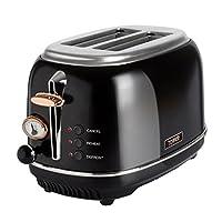 2-Slice, Black: Tower Bottega T20016 2-Slice Toaster, Black