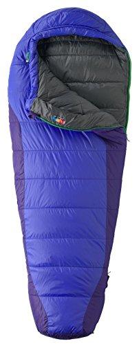 Marmot Sunset 20 Sleeping Bag Women Long Electric Blue/Dahlia Purple 2016 Mumienschlafsack