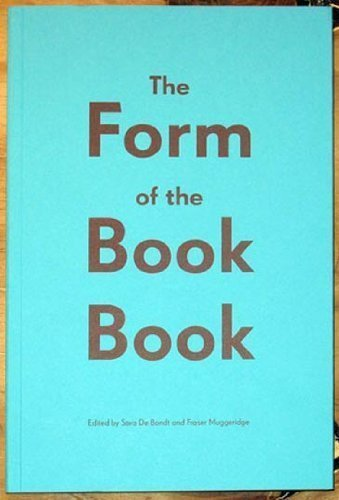 The Form of the Book Book