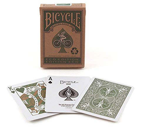 US Playing Card Company Bicycle - Pokerkarten Eco Edition Service-ideen Eco Air