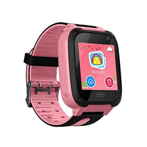 TDH Niños Inteligente Relojes, GPS Kids SmartWatch con Camara, Flash luz, SOS,...