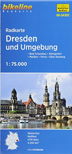Dresden and Surroundings Cycle Map 2015 por Esterbauer Verlag GmbH